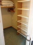 Junior suite closet