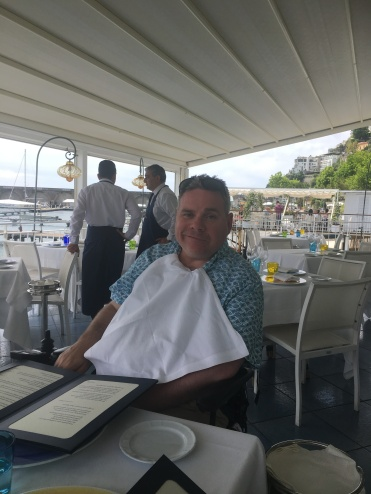 Lunch in Amalfi