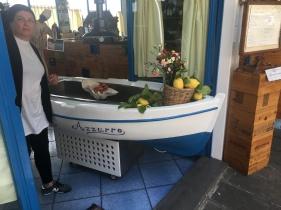 Restaurant in Amalfi